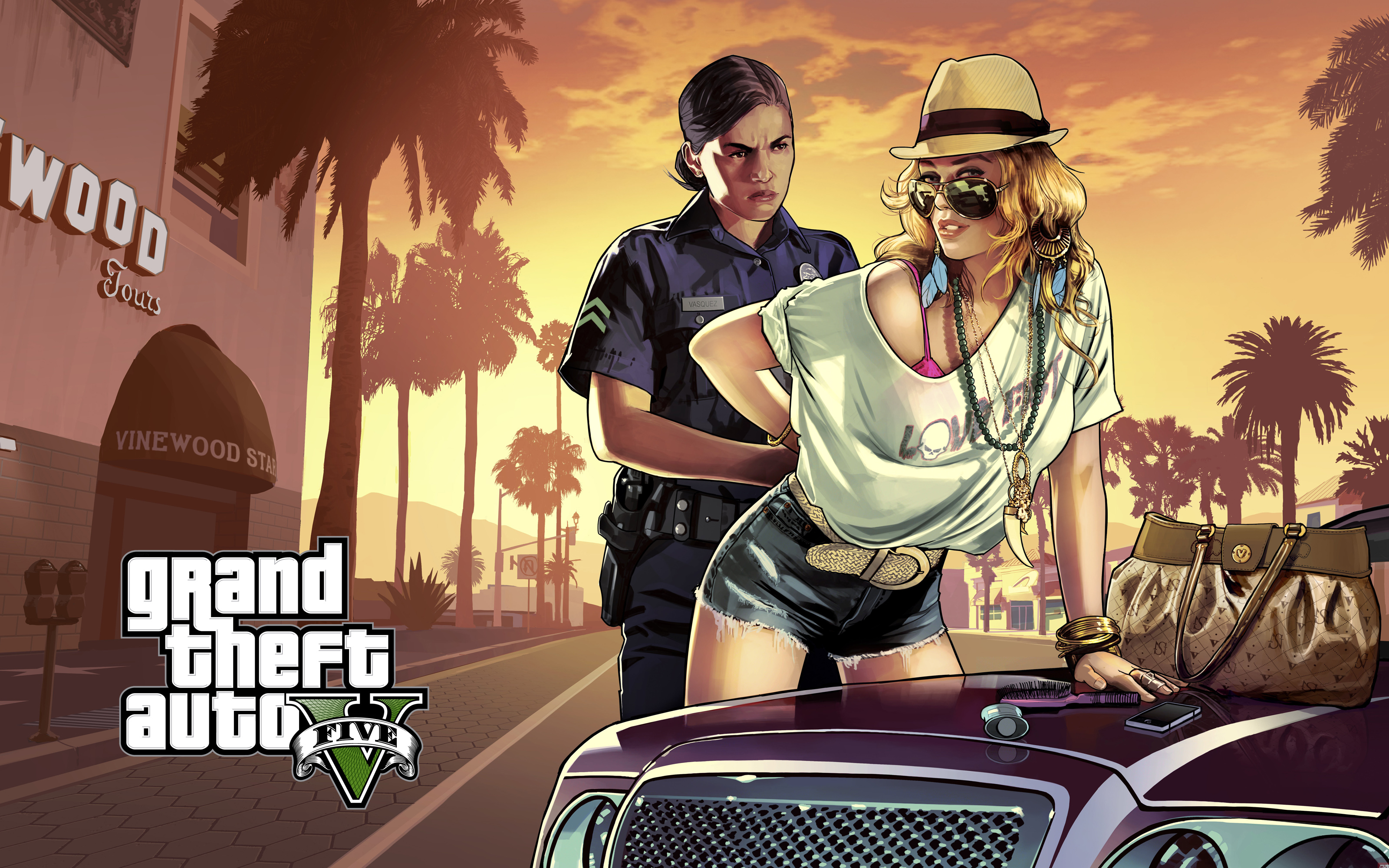 GTA 5 Police and Girl
